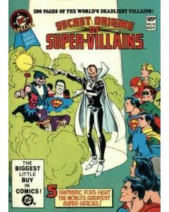 DC Special Blue Ribbon Digest (1980) #  15 (6.0-FN) Secret Origin of Super-Villains