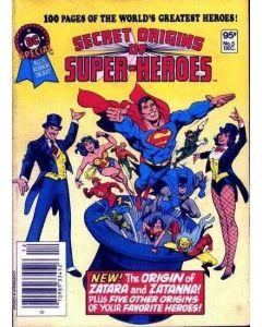 DC Special Blue Ribbon Digest (1980) #   5 (5.0-VGF) Secret Origins Super-Heroes