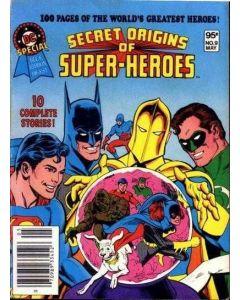DC Special Blue Ribbon Digest (1980) #   9 (6.0-FN) Secret Origins of Super-Heroes