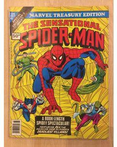 Marvel Treasury Edition (1974) #  14 UK PRICE (6.0-FN) (1187780) Spider-Man