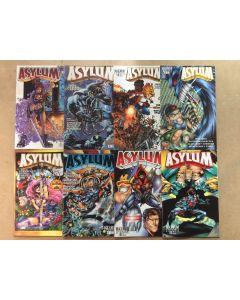 Asylum (1995) # 1-11 (missing 3 issues) (8X) CHEAP BULK DEAL LOT SET 0096