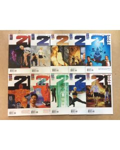 21 Down (2002) # 1-12 (MISSING 7 AND 9) (10X) CHEAP BULK DEAL LOT SET 0084