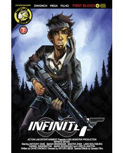 Infinite Seven (2017) #   4 Cover B (8.0-VF) Limited to 1500