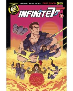 Infinite Seven (2017) #   4 Cover C (8.0-VF) Limited to 1500