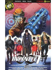 Infinite Seven (2017) #   6 Cover B (9.2-NM) Limited to 1500