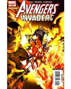 Avengers Invaders (2008) #   1 (8.0-VF) Alex Ross Cover