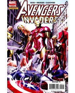 Avengers Invaders (2008) #   2 (9.0-NM) Alex Ross Cover