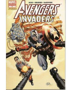 Avengers Invaders (2008) #   2 Limited Edition Variant (8.0-VF) Mike Perkins Cover