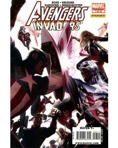 Avengers Invaders (2008) #   7 (8.0-VF) Alex Ross Cover