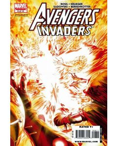 Avengers Invaders (2008) #   8 (9.0-NM) Alex Ross Cover