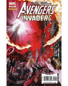 Avengers Invaders (2008) #   9 (9.0-NM) Alex Ross Cover