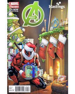 Avengers (2012) #  24 DEADPOOL VARIANT (8.0-VF)