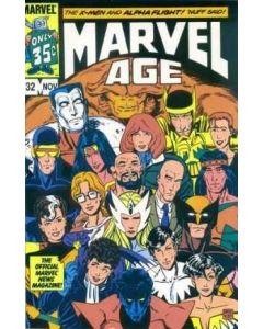 Marvel Age (1983) #  32 (8.0-VF) X-Men