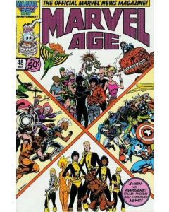 Marvel Age (1983) #  48 (9.0-VFNM)