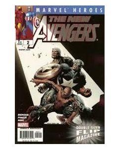 Marvel Heroes Flip Magazine (2005) #   2 (8.0-VF) Captain America / The New Avengers