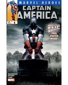 Marvel Heroes Flip Magazine (2005) #   4 (8.0-VF) Captain America / The New Avengers