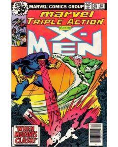 Marvel Triple Action (1972) #  45 (7.0-FVF) Uncanny X-Men