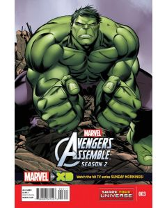Marvel Universe Avengers Assemble Season 2 (2014) #   3 (9.0-NM)