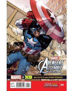 Marvel Universe Avengers Assemble Season 2 (2014) #   4 (5.0-VGF)