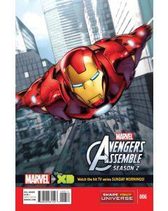 Marvel Universe Avengers Assemble Season 2 (2014) #   6 (8.0-VF)