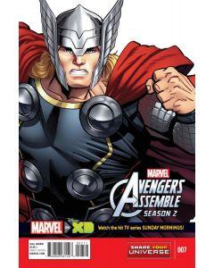 Marvel Universe Avengers Assemble Season 2 (2014) #   7 (8.0-VF)