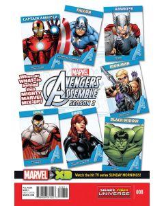 Marvel Universe Avengers Assemble Season 2 (2014) #   8 (8.0-VF)