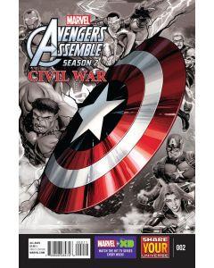 Marvel Universe Avengers Assemble Season 2 Civil War (2016) #  2 (8.0-VF)
