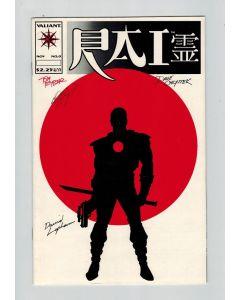 Rai (1992) #   0 Signed by Bob Layton a.o (8.0-VF) (669591)
