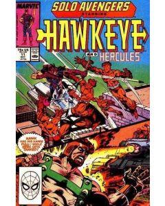Solo Avengers (1987) #  11 (8.0-VF)
