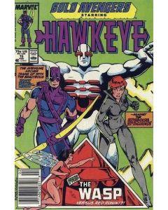 Solo Avengers (1987) #  15 (7.0-FVF)