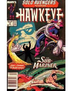 Solo Avengers (1987) #  17 (7.0-FVF)