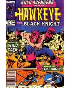 Solo Avengers (1987) #   4 (7.0-FVF)