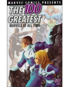 100 Greatest Marvels of All Time (2001) #   9 (6.0-FN) Price tag on Cover