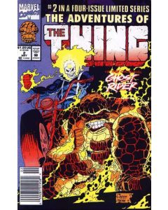 Adventures of the Thing (1992) #   2 (6.0-FN) Ghost Rider Price tag on Cover