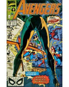 Avengers (1963) # 315 (7.0-FVF) Spider-man