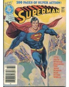 Best of DC Blue Ribbon Digest (1979) #   1 (7.0-FVF) Superman