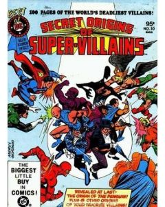 Best of DC Blue Ribbon Digest (1979) #  10 (6.0-FN) Secret Origins of Super-Villains