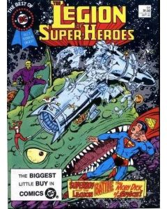 Best of DC Blue Ribbon Digest (1979) #  64 (5.0-VGF) Legion of Super-Heroes