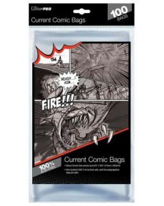 Ultra Pro Current Size Comic Bags (100)