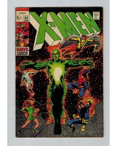 Uncanny X-Men (1963) #  55 UK PRICE (6.5-FN+) (668716)