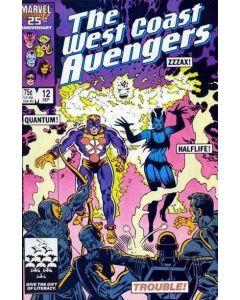 Avengers West Coast (1985) #  12 (5.0-VGF)