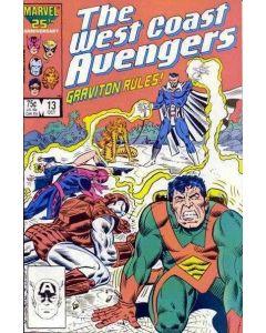 Avengers West Coast (1985) #  13 (6.0-FN)