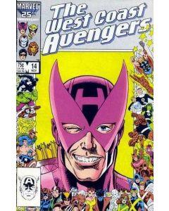 Avengers West Coast (1985) #  14 (7.0-FVF)