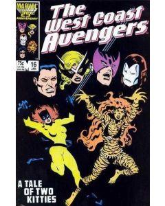 Avengers West Coast (1985) #  16 (8.0-VF)