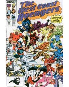 Avengers West Coast (1985) #  28 (8.0-VF)
