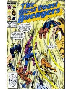Avengers West Coast (1985) #  32 (6.0-FN)