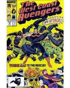 Avengers West Coast (1985) #  33 (8.0-VF)