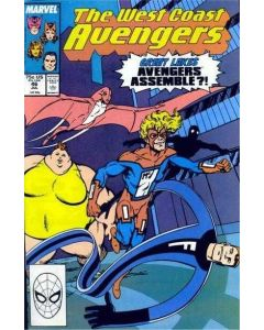 Avengers West Coast (1985) #  46 (7.0-FVF) 1st Great Lakes Avengers