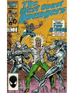 Avengers West Coast (1985) #   7 (8.0-VF)