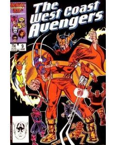 Avengers West Coast (1985) #   9 (8.0-VF)